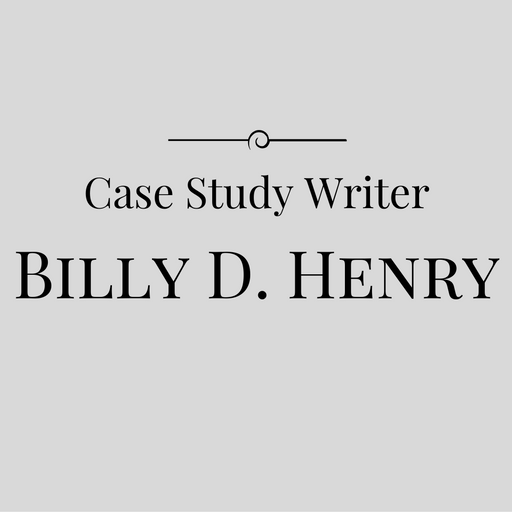Case study writer Billy D. Henry, CFE